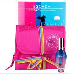 Escada Island Kiss 30ml - Gavesett for henne fra Blush. Om denne nettbutikken: http://nettbutikknytt.no/blush-no/