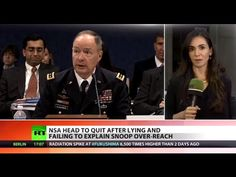 NSA Head To Quit After Lying, Failing To Explain Spy Overreach - Pub. on Oct 18, 2013 - The head of America's National Security Agency - credited with a major expansion of the organization's covert surveillance operations - is due to quit, early next year. Army general Keith Alexander, who is the NSA's longest-serving chief, has come under intense pressure since whistleblower Edward Snowden revealed the vast scale of government snooping. RT LIVE http://rt.com/on-air