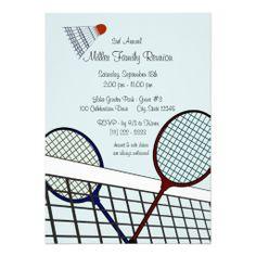 Backyard Games/ Badminton Custom Announcements