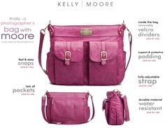 Amazing giveaway over at Rock the Shot! I <3 Kelly Moore bags!