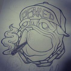 05be0b739a9 blunt  joint  weed  snapback  tattoo  design  designer  sketch