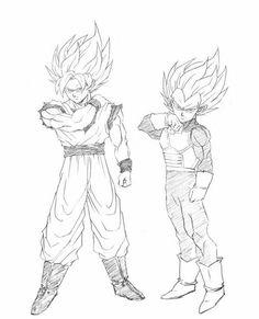 Goku and Vegeta Ssj