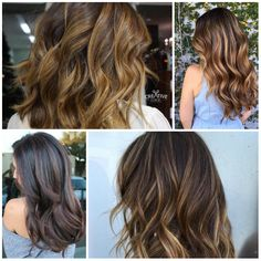 Balayage Hair with Highlights for 2017