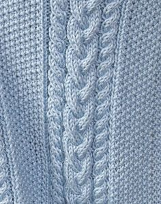 Free Pattern: Little Boy Blue Baby Blanket