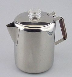 Rapid Brew Stainless Steel Stovetop Coffee Percolator, 2-12 cup ** Visit the image link more details.