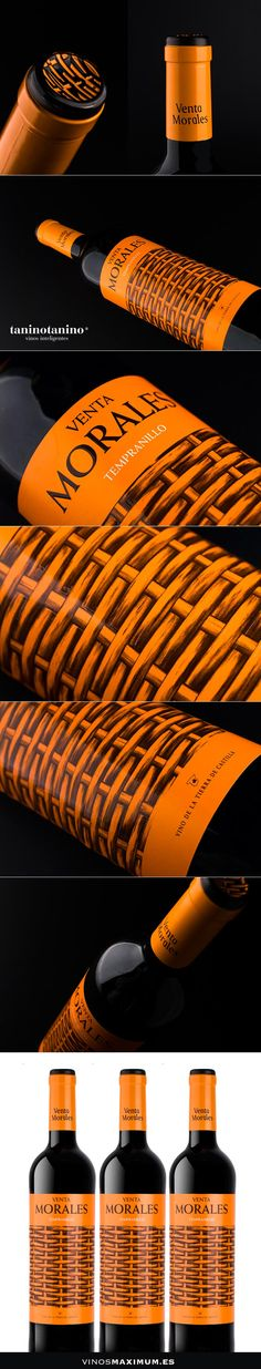 VENTA MORALES TEMPRANILLO - TANINOTANINO VINOS INTELIGENTES - VINOS MAXIMUM Photo by #winebrandingdesign