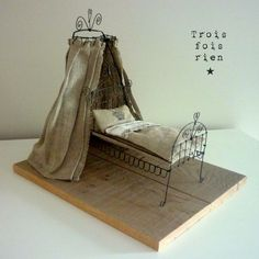 Wire Canopy Bed