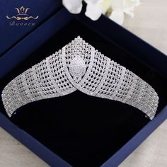 Bavoen Top Quality Royal Queen Brides Tiaras Crowns Headpieces Oversize Silver Bridal Hairbands Wedding Hair Accessories Gift-in Hair Jewelry from Jewelry & Accessories on AliExpress Wedding Hair Accessories, Wedding Jewelry, Jewelry Accessories, Van Cleef And Arpels Jewelry, Royal Jewelry, Tiaras And Crowns, Bridal Headpieces, Royal Princess, Royal Queen