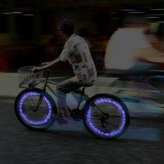 illuminated type bike light, by Mflight