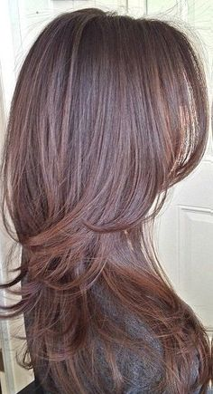 27 Amazing Hairstyles for Long Thin Hair (Must-See Haircuts for Fine Hair) - hair styles for short hair Long Layered Haircuts, Haircuts For Fine Hair, Straight Hairstyles, Amazing Hairstyles, Layered Hairstyles, Latest Hairstyles, Long Layered Bangs, Long Hairstyles With Layers, Brown Layered Hair