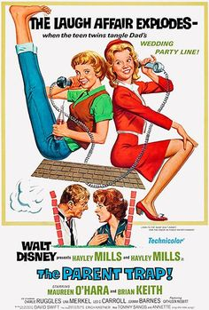 The Parent Trap - 1968 - Movie Poster