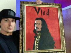 Zak Bagans picture of Vlad Dracula Ghost Adventures Zak Bagans, Vlad The Impaler, Guy Names, Cool Paintings, Dracula, To My Future Husband, Paranormal, In This World, Supernatural