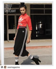 """Madhulika #Repost @sssmagazine with @repostapp  Struggles of being a new model? """"The mental replay of how youll say hi to the casting director and hopefully never exhaust your poses for a photographer"""" Madhulika Sharma (@madhulika1997 ) from @toabhmanagement  Madhulika is wearing:  Skirt top socks @adidasoriginals  Photographer: @suvratt  Hair and make up: @iramkazmi28  Upcoming models young fashion designers top fashion bloggers new icons of style to keep up with what's new don't miss our…"""