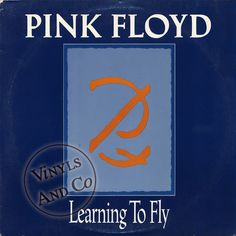 PINK FLOYD - Learning To Fly [Edit & LP Version] MAXI 45 TOURS PROMO US 1987 12""