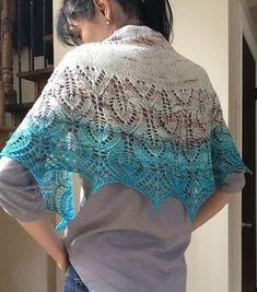 Vanesse Lace Shawl Free Knitting Pattern Download. Butterfly shawl to knit.