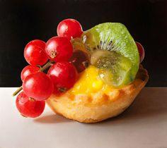 Food Art par Luigi Benedicenti : Peintures Photoréalistes de Pâtisserie