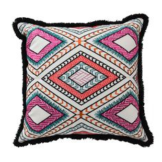 Poncho 18-inch Throw Pillow