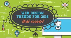 Web Design Trends For 2016 That Convert (With Infographic) http://blog.flightmedia.co/converting-web-design/  #web #improvement