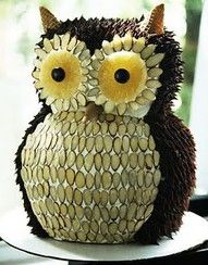 Owl Cake (looks SO good)