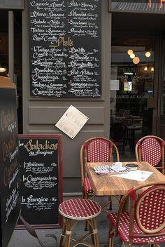 Paris Bistro by Marilize Anderssen