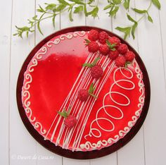 Mousse, Cheesecakes, Decorative Plates, Christmas Tree, Sweets, Holiday Decor, Tableware, Food, Festive