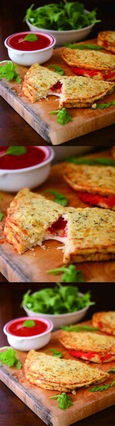 CAULIFLOWER CRUST CALZONE - black pepper, cauliflower, cheese, healthy, recipes, tomato