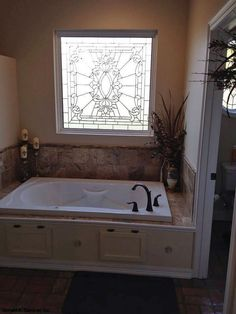 Enjoy this large soaking tub in the master bathroom! The Dalton, plan 1126 - http://www.dongardner.com/plan_details.aspx?pid=3085. #Master #Bathroom #SoakingTub