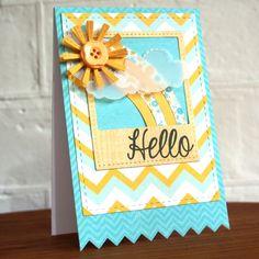 Ideas & Paper: Hello Lil' Sunshine...
