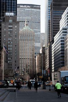 NYC. MetLife at Park Avenue |Obliot Flickr: