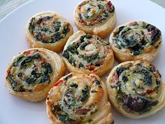 Savoury Pinwheels