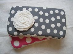 Travel Baby Wipes Case in Polka Dot Print You by ModernBabyDesign, $14.00 Polka Dot Fabric, Pink Polka Dots, Polka Dot Print, Baby Wipe Case, Wipes Case, Sewing Projects, Sewing Ideas, Traveling With Baby, Logo Sticker