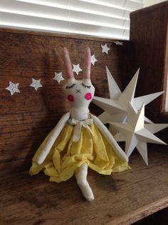 Usagi Doll  Rabbit Doll by MummsLove on Etsy,