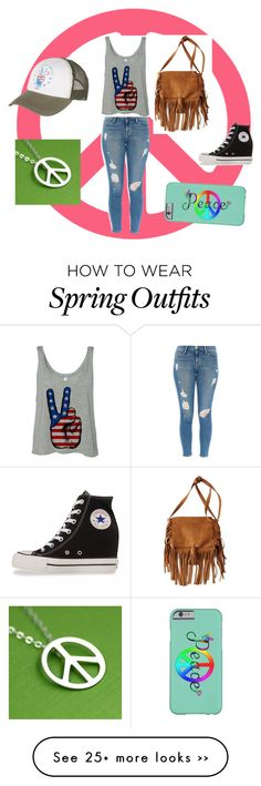 """""""Peace Dude"""" by lai0001 on Polyvore featuring American Eagle Outfitters, Frame Denim, Billabong and Converse"""