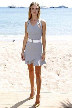 Cannes Film Festival - Rosie Huntington-Whiteley in a Victoria Beckham dress
