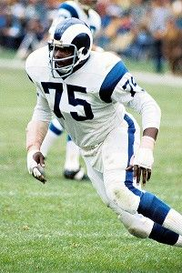 Hall of Famer Deacon Jones, the leader of the Fearsome Foursome defensive line for the Rams in the 1960s, died Monday, June 3, 2013. He was 74.
