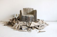 Reborn Cardboard Sofa / Monocomplex Design Studio