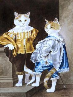 JOHN AND BERNARD (LORD JOHN STUART AND LORD BERNARD STUART) - VAN DYCK by SUSAN HERBERT
