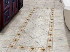 Reasons to Choose Porcelain Tile | Bathroom Design - Choose Floor Plan & Bath Remodeling Materials | HGTV