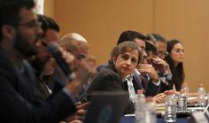 Carmen Aristegui y otras de las víctimas del espionaje del Gobierno mexicano.