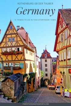 Things to do in Rothenburg ob der Tauber, Germany | Visiting Rothenburg ob der Tauber with kids | Best towns along Germany's Romantic Road | #germany #rothenburg #romanticroad #europe