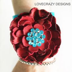 New 3 inch turquoise leather cuff!