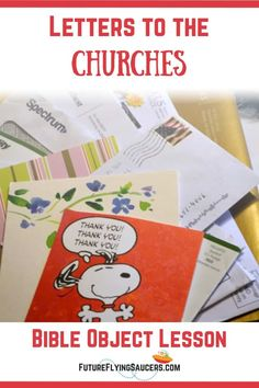 Letters to the Churches Object Lesson   FutureFlyingSaucers Object Lessons Sunday School Curriculum, Sunday School Activities, Sunday School Lessons, Sunday School Crafts, Bible Activities, Kids Church Lessons, Bible Lessons For Kids, Bible For Kids, Teaching Letters