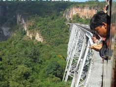 longest and highest train trestle in the world upon its done in 1901, Gokteik Viaduct