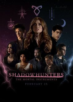Shadowhunters Tv Series, Shadowhunters The Mortal Instruments, Clary Et Jace, Serie Vampire, Constantin Film, Clace, The Dark Artifices, City Of Bones, Little Liars