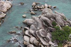 #beach #belitung #cliff coast #indonesia #nature