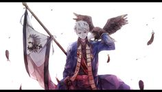 Hetalia -Can you see me?- [Prussia and Old Fritz] Illustration, Animation, Art, Prussia Hetalia, Anime, Hetalia Fanart, Fan Art, Interesting Art, Zelda Characters