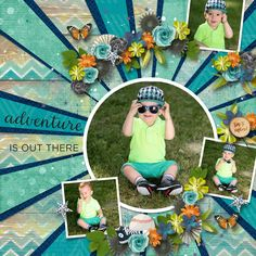 Adventure is out there by Heartstrings Scrap Art - Scrapbook.com
