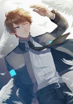 Shokugeki No Soma Anime, Detroit Become Human Connor, Human Art, Anime Art, Japan, Manga, Twitter, Youtubers, Character