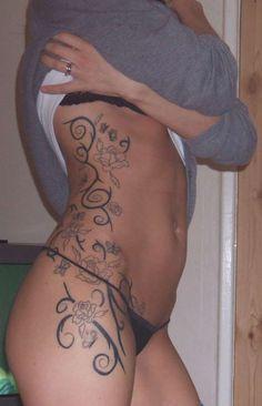 Rib Side Tattoos For Women | How To Come Up With A Tattoo Idea - LiLz.eu - Tattoo DE