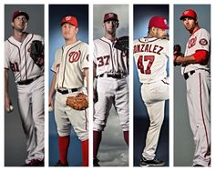 Starting pitcher rotation for the 2015 Washington Nationals.